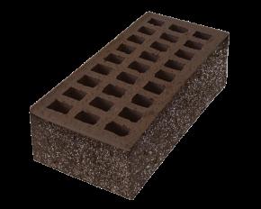 Торкретированный кирпич (цвет Шоколад)